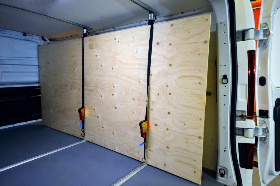 Protective cladding and load securing for your work vehicle