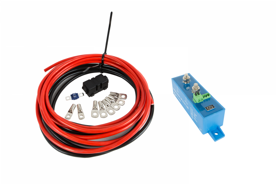 Connection kit and batteries for your work vehicle