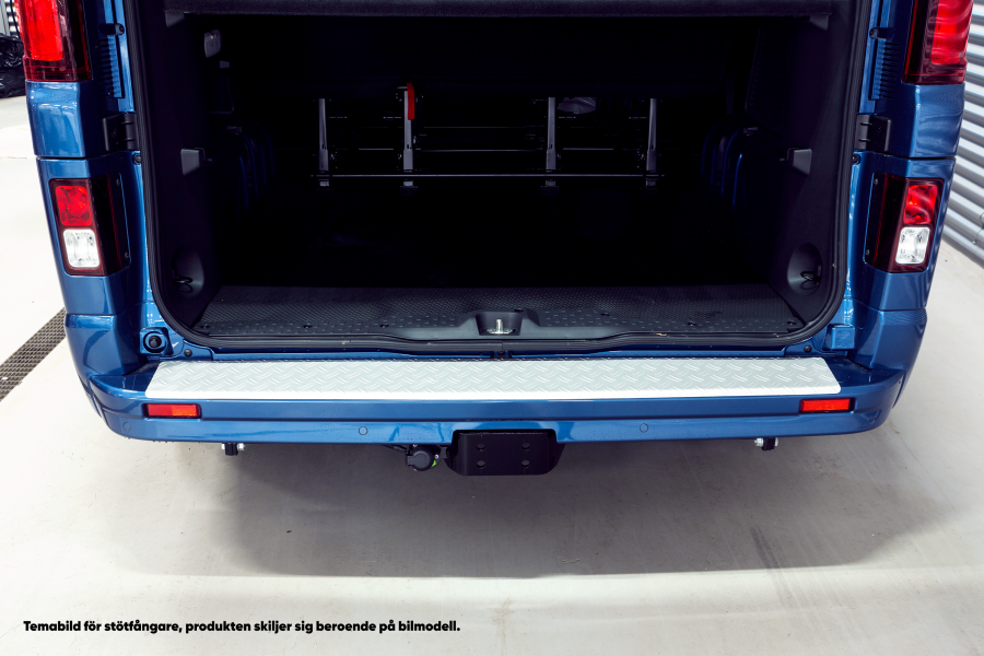 Aluminum Rear Bumper Protector for the Scudo, Dispatch and Expert--