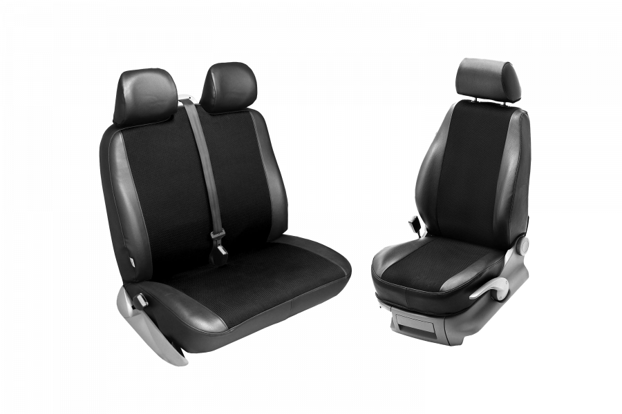 Seat covers for three seats for the Dispatch, Expert and Proace