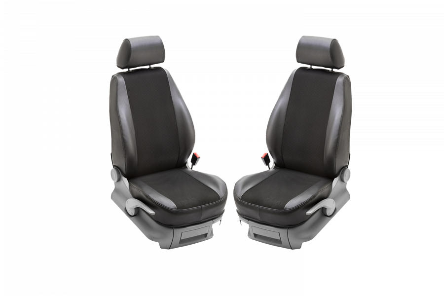 Seat covers for two seats for the VW Transporter T5/T6 03