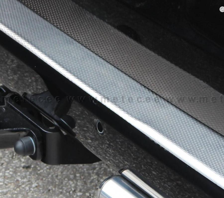 Aluminum Rear Bumper Protector For Vito 2015-