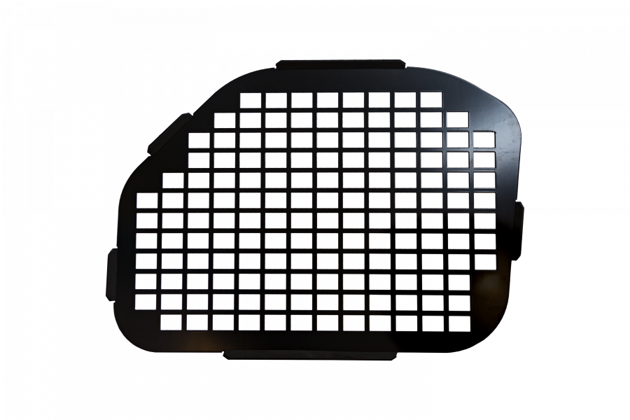 Anti-Theft Grid for the Ford Transit.  For the rear double doors without wipers.