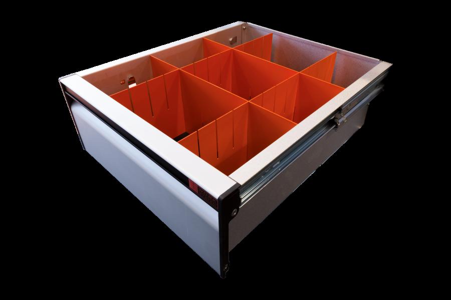 Drawer Divider 140x350 mm | Work System