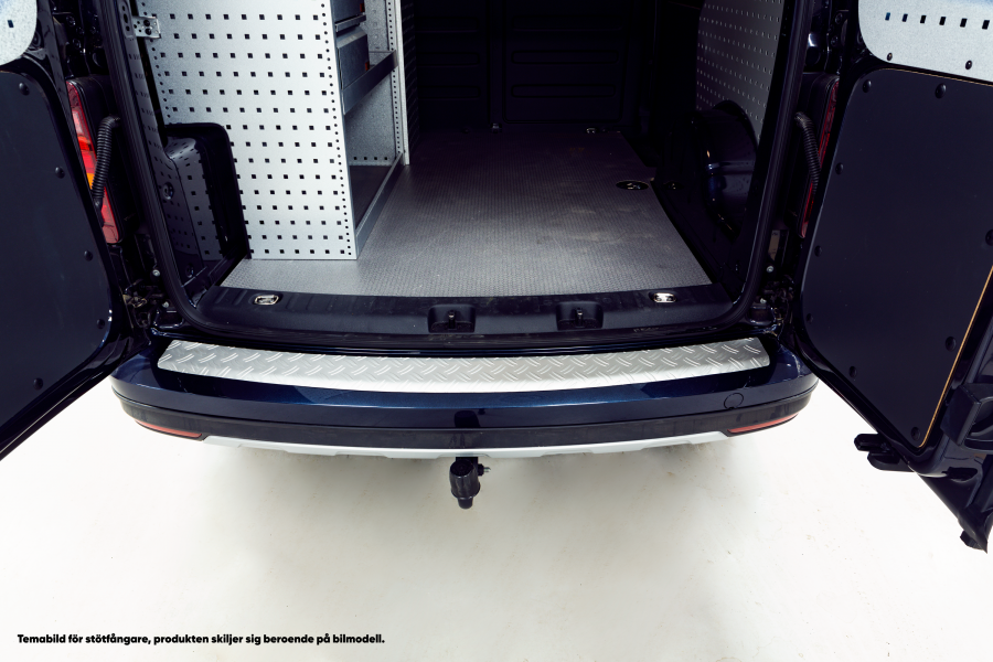 Aluminum Rear Bumper Protector for the Expert, ProAce, Dispatch 2017-