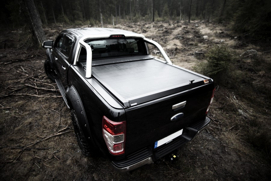 Rolltop Ford Ranger 2012 (With a standard Flatbed)