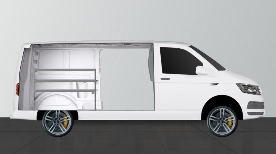 V-Basic for the VW Transporter (LWB) | Work System