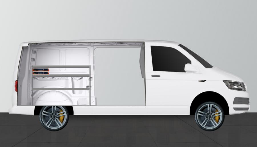 V-SS2 for the VW Transporter L2 | Work System
