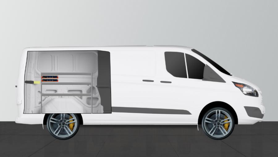 V-SS2 van racking for the Custom Crew | Work System
