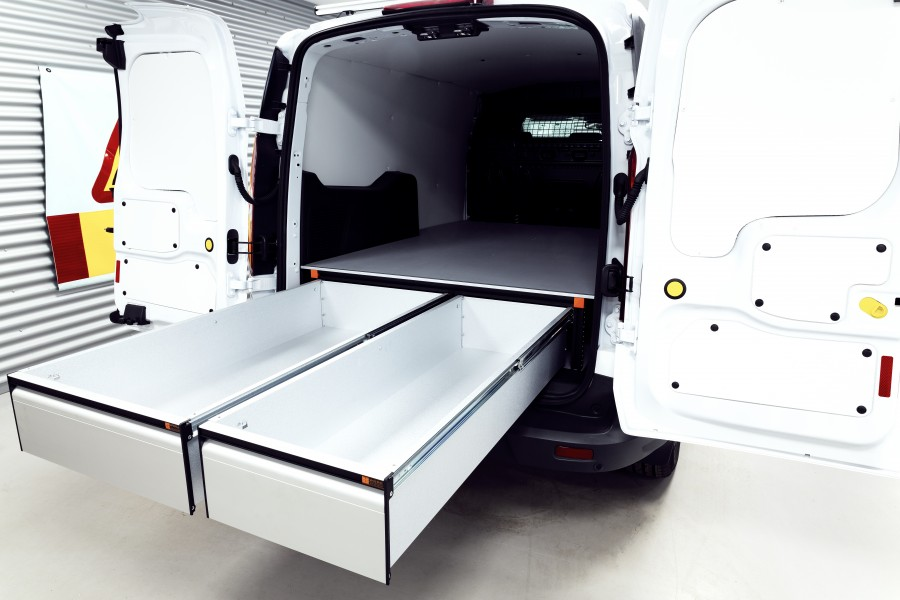Underfloor (H:272mm) with 3 drawers for the Connect L2