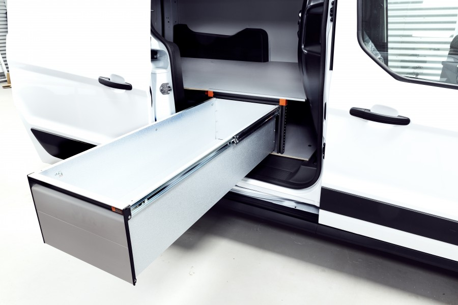 Underfloor (H:342mm) with 3 drawers for the Connect L2