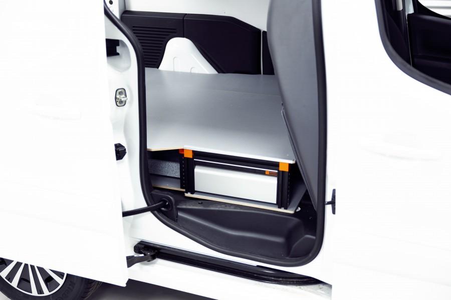 Underfloor Drawers H:202mm 3-Drawers