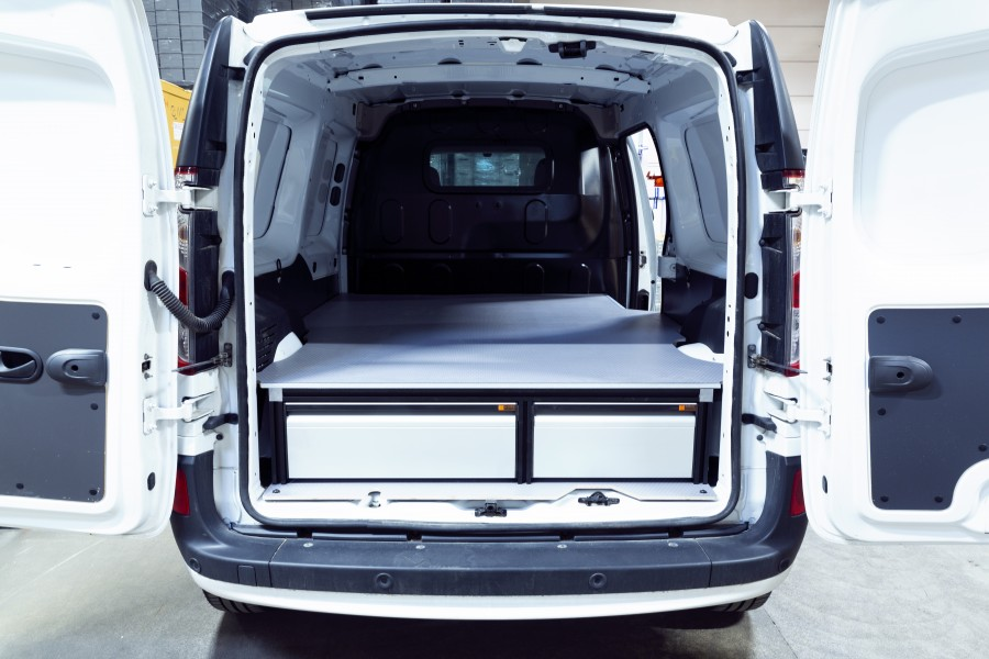 Underfloor (H:272mm) With 3 drawers for the Citan & Kangoo L2