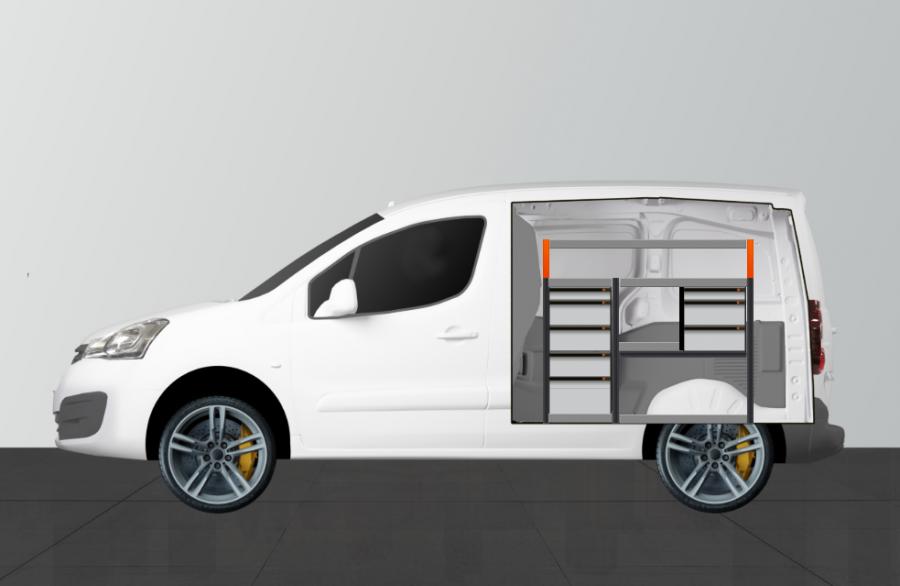 H-PRO ADVANCE for the Citroen Berlingo and Peugeot Partner L1H1