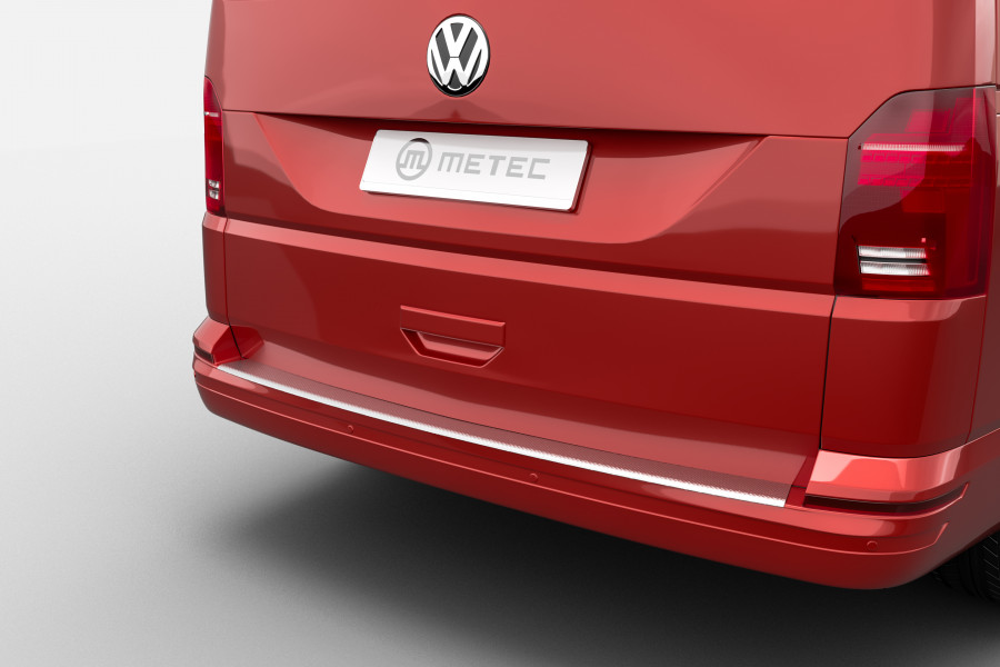 Aluminum Rear Bumper Protector for the VW T5 and T6-